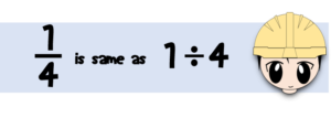 fraction-as-division