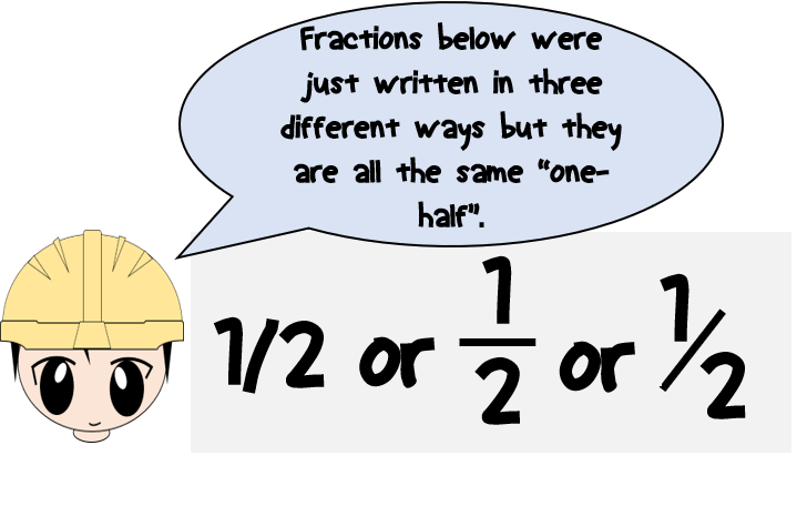 how-to-write-fraction