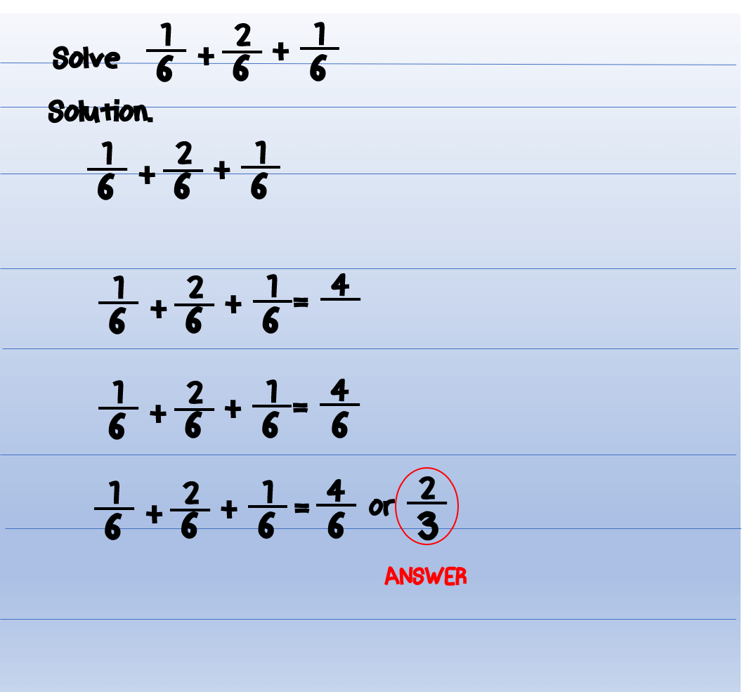 Adding-similar-Fraction-Example-2