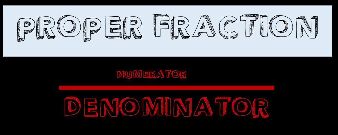 Proper-fraction