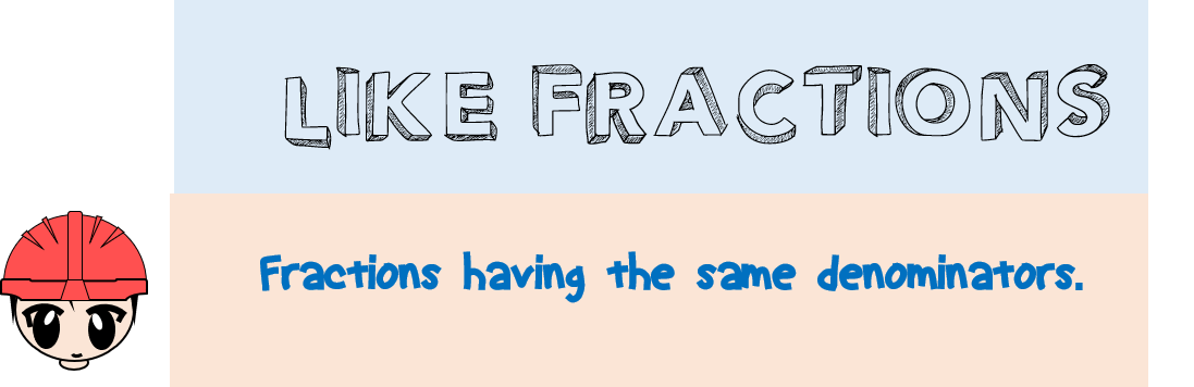 like-fractions
