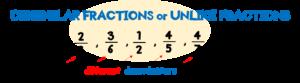 unlike-fractions